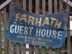 #26 Farhath Guest House (Sign)