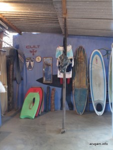 the inside of #46 Abay Surf Shop