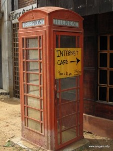 #50 SVH's telephone booth for international calls!