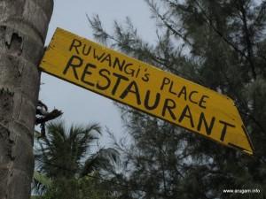 #59 Ruwangi's (sign)