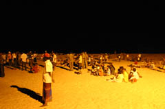 Flood light Beach SVH
