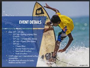 Red Bull Surf Competition at Arugam Bay