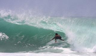 Phil & Moniqus Great Arugam Bay Surf shot